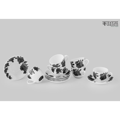 Rose Garden Cups and Saucers