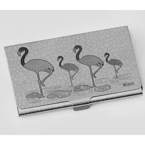 Flamingo Visiting Card Holder