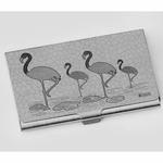 Flamingo Visiting Card Holder