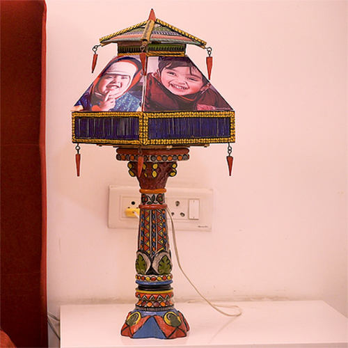 Hand painted Lamp - Personalized