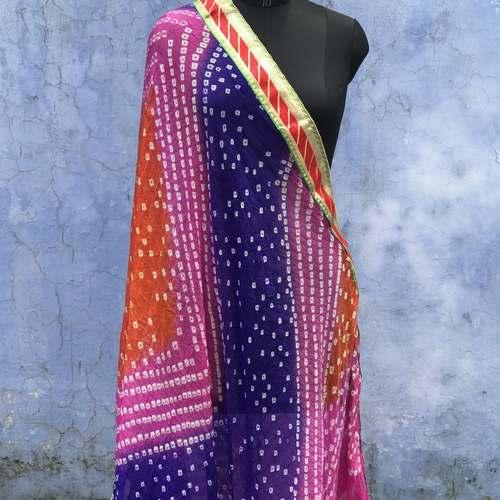Art silk Bandhni Dupatta