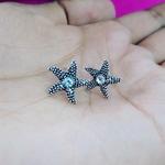 Tiny star studs