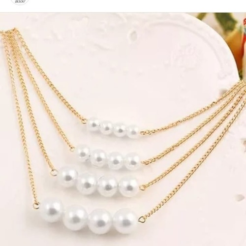 4 layer pearl chain