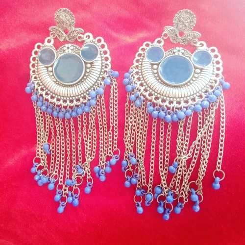 afgani stud earrings