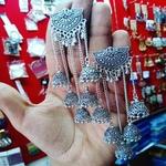 German silver handcrafted earrings