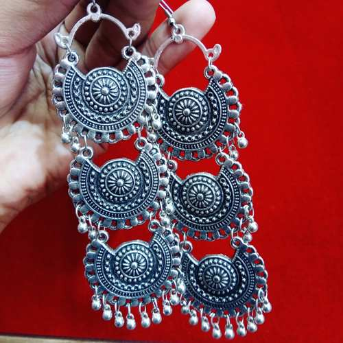 3 layer afghani earrings