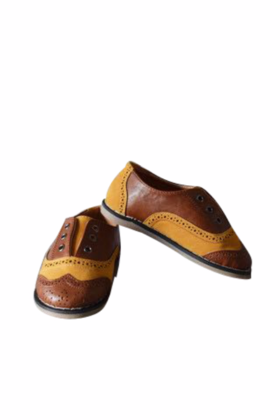Boys brown shoes