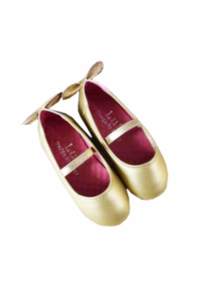 Girls shoes (gold)