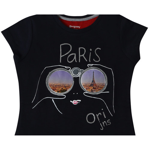 Girls T-shirt (Dark blue)