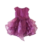 Toddler girl party dress (Purple)