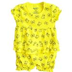 Baby Girl Romper (Yellow)