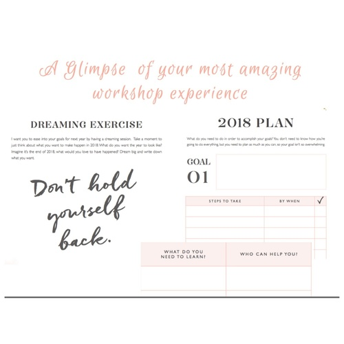 Workshop - Your Bold Move for 2018