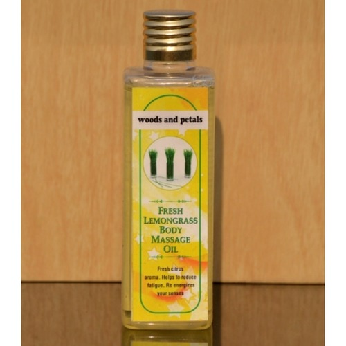 Lemongrass Body Massage Oil I Weight Loss I Anti depressant I Calming I Rejuvenating