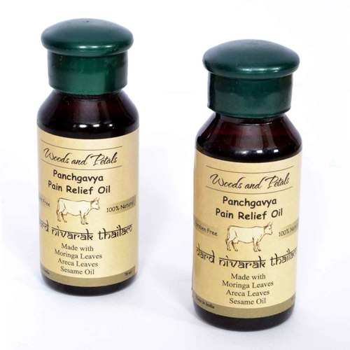 Ayurvedic Pain Relief Oil - Set of 2 ( Dard Nivarak Thailam )