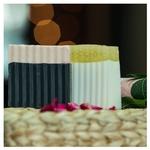 Bamboo wood charcoal & Honey Coconut soap combo ( set of 2 )