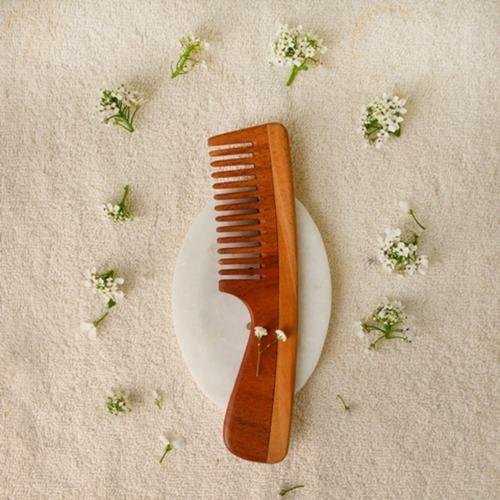 Neem Wood Combs ( set of 2) I Eco Friendly I Vegan