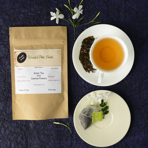 Darjeeling green tea with Jasmine Flowers