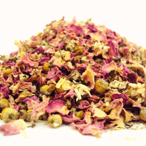 Ayurvedic Rose Chamomile Tea  I Anti Aging I Night Time tea I Relaxing I Calming