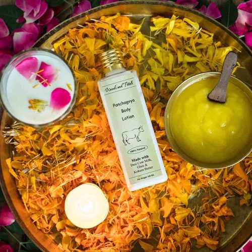 Hand made Panchgavya Body Lotion - Anti Aging I Hydrating