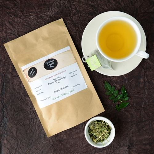 Organic Moringa Ginger Tea ( Anti Aging I Weight Loss I Pain Relief I Anti Oxidant Rich