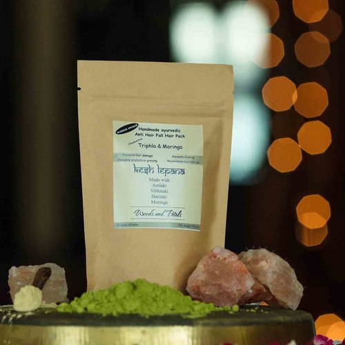 Moringa Triphla Hair Pack ( kesh lepana ) I Anti hair fall I Premature Greying I Hair Growth