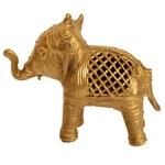 Indian Elephant with Jaali Work
