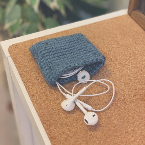 Cotton Earphone Case (Variegated)