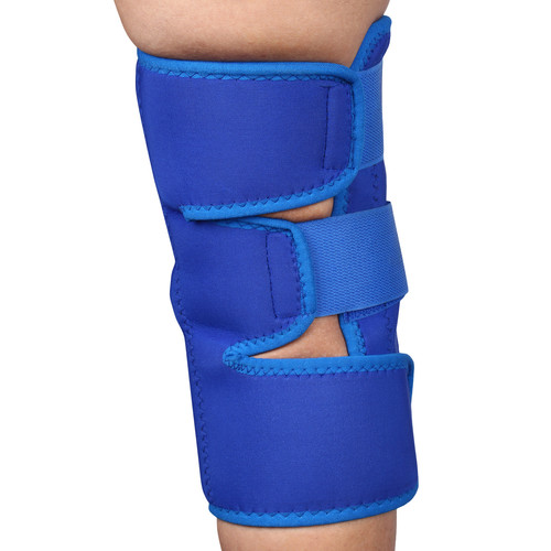 Vkare Open Patella Knee Brace - Neoprene - Blue