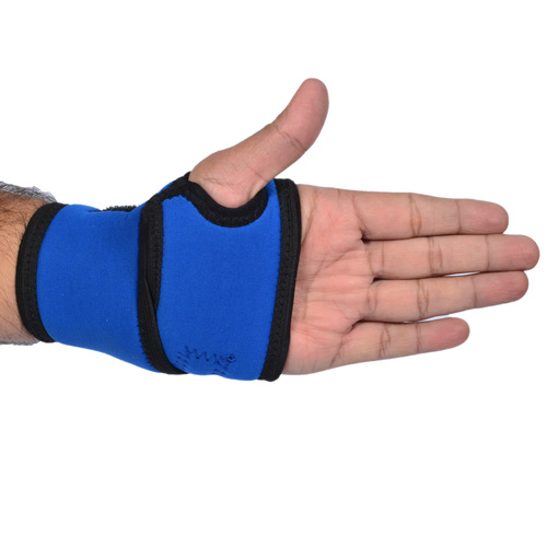 Vkare Wrist Binder with Thumb Support - Blue - Neoprene