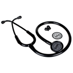 Vkare Adult Stainless Steel Stethoscope - Matte Black Edition