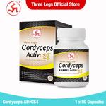 Cordyceps ActivCS4 90 capsules [Expiry Date on Sept 21] - 50% OFF