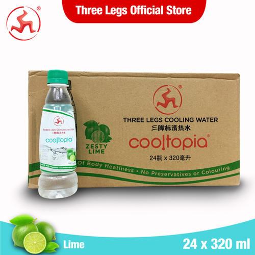 Cooltopia Zesty Lime 320ml (24pcs)