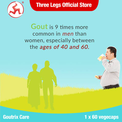 Goutrix Care 60 capsules [Expiry Date on July21] - 50% OFF