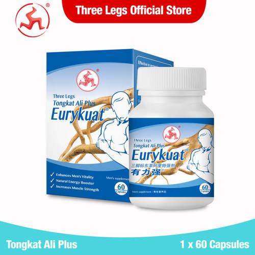Tongkat Ali Plus, Eurykuat 60 capsules