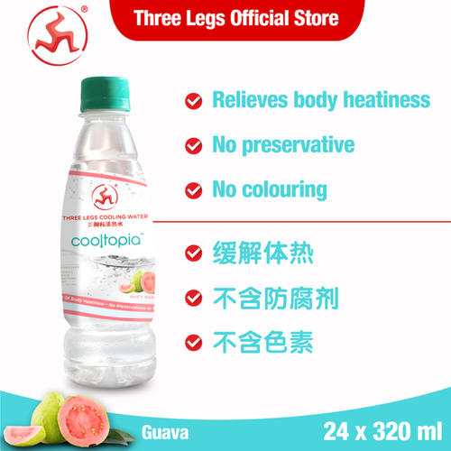 Cooltopia Juicy Guava 320ml (24pcs)