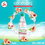 Cooltopia Divine Peach Less Sweet 320ml 24pcs