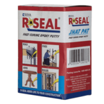 R SEAL JHAT-PAT Fast Curing Epoxy Putty Compound Adhesive For Stopping Leakage, Fixing, Bonding, Gap Filling and Repairing - 100 Grams x 12 Units