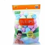 Tulips Colour Cotton Balls - 50 pcs