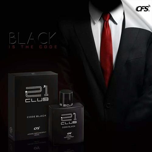 CFS 21 Club Code Black Perfume 100 ml