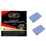 CARSZINI Microfiber Cloth (400 GSM 40cmx40cm) - Pack of 2