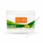 Tulips Cotton Buds 200 Sticks - Flat Box
