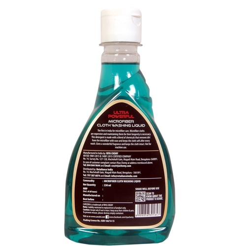 CARSZINI Microfiber Cloth Washing Liquid 330 ml