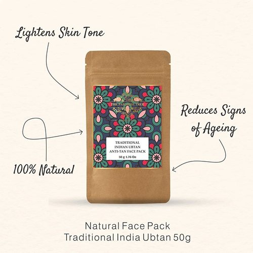 The Paradise Trees Traditional Indian Ubtan Anti Tan Face pack 50g
