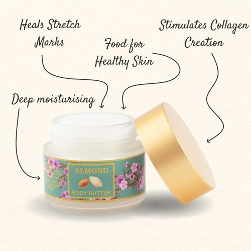 The Paradise Trees Almond Body Butter - Almond And Honey 100 G