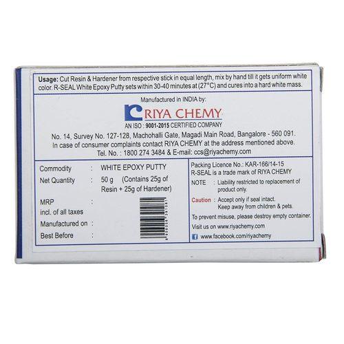 R Seal Plumbers Putty White Epoxy 50 g