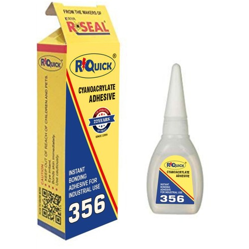 RQuick 356 Super Glue 20g - Cyanoacrylate Adhesive