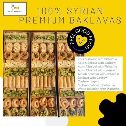 Premium Syrian Baklavas