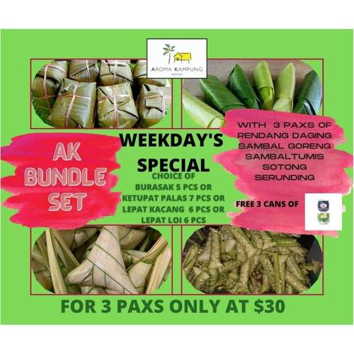 WEEKDAYS SPECIAL  FOR 3 PAXS