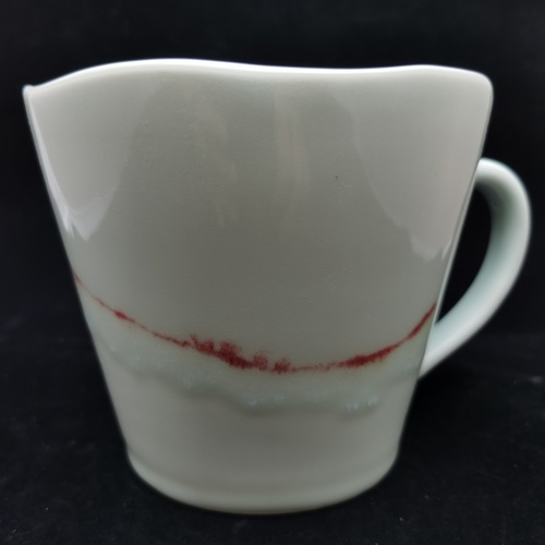 Underglaze Red Giant Mugs 1200cc