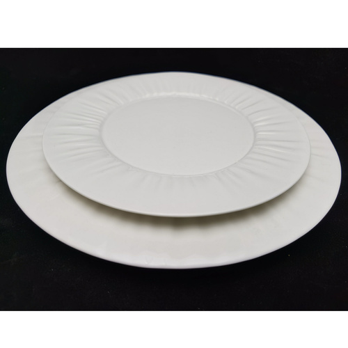 Lace Reinforced Round Plates 210mm